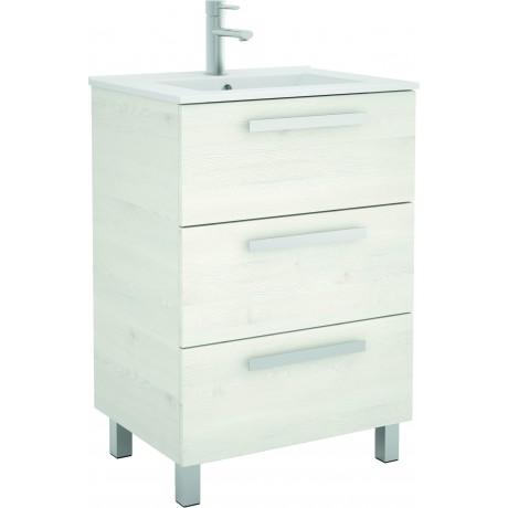 Mueble de baño y lavabo Chrome  de 60 cm